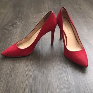 Banana Republic Red Heels